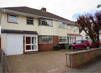 Thumbnail 3 bedroom semi-detached house for sale in Blakeley Avenue, Wolverhampton