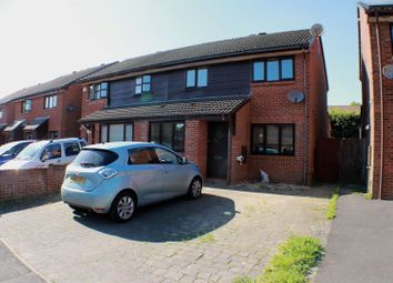 Thumbnail 3 bed semi-detached house for sale in Poppy Close, Locks Heath, Southampton
