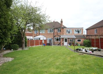 Thumbnail 4 bed semi-detached house for sale in Brancaster Close, Leicester