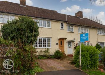 Thumbnail 2 bed terraced house for sale in Ridge Avenue, Letchworth Garden City