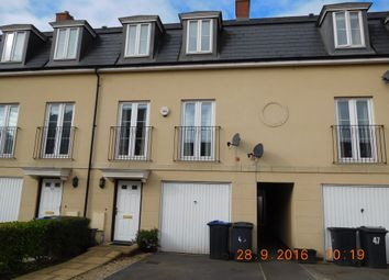 Thumbnail 4 bed town house to rent in Foundry Close, Melksham