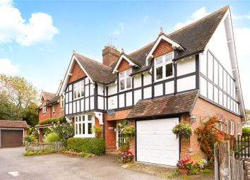 Thumbnail 5 bed semi-detached house for sale in Hitchurst Cottages, Ockley, Dorking