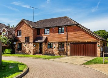 Thumbnail 4 bed detached house for sale in Lancaster Gardens, Blindley Heath, Lingfield
