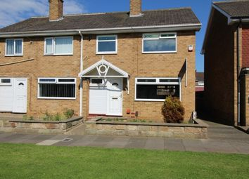 Thumbnail 3 bed semi-detached house to rent in Fosdyke Green, Middlesbrough