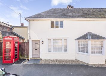Thumbnail 2 bed semi-detached house for sale in Bures, Sudbury, Suffolk