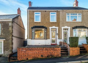 Thumbnail 3 bedroom semi-detached house for sale in Crown Street, Morriston, Swansea