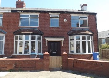 Thumbnail 4 bed semi-detached house to rent in Carlton Grove, Bispham, Blackpool