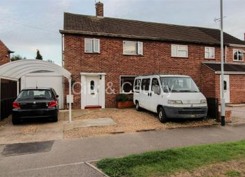 Thumbnail 4 bedroom semi-detached house for sale in Myrtle Avenue, Dogsthorpe, Peterborough