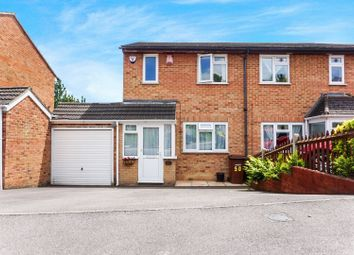 Thumbnail 3 bed semi-detached house for sale in Shanklin Close, Chatham