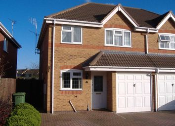 Thumbnail 3 bedroom property to rent in Allfrey Close, Lutterworth