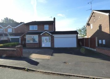 Thumbnail 3 bed detached house for sale in Waveney Grove, Clayton, Newcastle-Under-Lyme