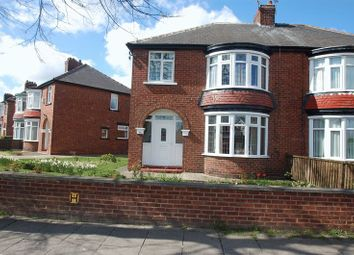 Thumbnail 3 bedroom semi-detached house for sale in Lanehouse Road, Thornaby, Stockton-On-Tees