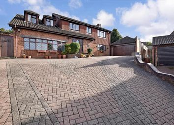 Thumbnail 6 bed detached house for sale in Ryegrass Close, Walderslade, Chatham, Kent