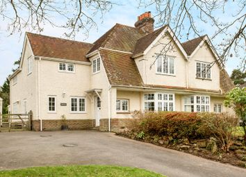 Thumbnail 4 bed semi-detached house for sale in Town Row, Rotherfield, Crowborough, East Sussex