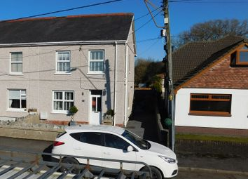 Thumbnail 3 bed semi-detached house for sale in Rice Street, Betws, Ammanford, Carmarthenshire.