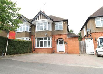 3 bed semi-detached house for sale in Elmwood Crescent, Luton LU2