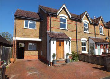 Thumbnail 3 bed end terrace house for sale in Cranford Avenue, Church Crookham, Fleet