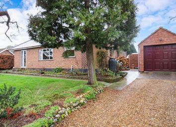 Thumbnail 4 bed bungalow for sale in Main Road, Swardeston, Norwich