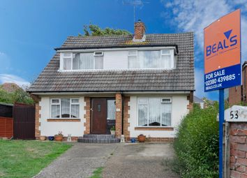 Thumbnail 3 bed detached house for sale in Manor Farm Road, Southampton