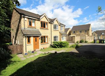 Thumbnail 3 bed semi-detached house for sale in Petrel Close, Bradford