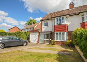 Thumbnail 3 bed semi-detached house for sale in Anne Way, West Molesey