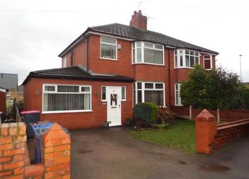 Thumbnail 3 bed semi-detached house for sale in Hilton Lane, Worsley, Manchester, Greater Manchester