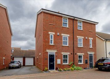 Thumbnail 4 bed semi-detached house for sale in Greensands View, Parklands, Milton Keynes