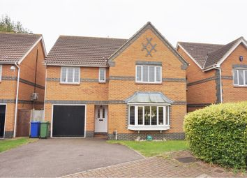 Thumbnail 4 bed detached house for sale in Poplar Close, South Ockendon