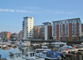 Thumbnail 2 bedroom flat for sale in Meridian Wharf, Maritime Quarter, Swansea