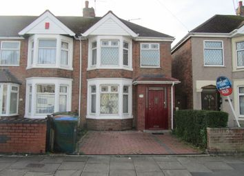 Thumbnail 3 bed semi-detached house for sale in Dudley Street, Coventry, West Midlands