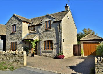 Thumbnail 4 bed detached house for sale in Manor Farm Lane, Essendine, Stamford