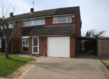 Thumbnail 4 bedroom semi-detached house for sale in Renault Road, Woodley, Reading