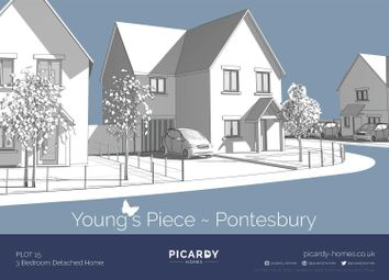 Thumbnail 3 bed detached house for sale in Plot 15 Young's Piece, Pontesbury, Shrewsbury