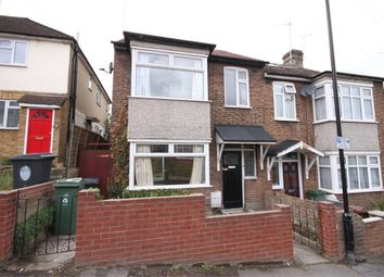 Thumbnail 3 bedroom end terrace house to rent in Byron Road, London