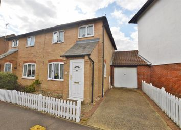Thumbnail 3 bed semi-detached house for sale in Dale Close, Stanway, Colchester