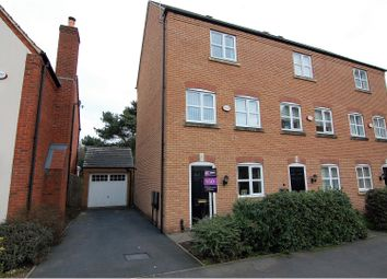 Thumbnail 3 bed town house for sale in Millbank Place, Nottingham