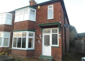 Thumbnail 3 bed semi-detached house to rent in Springwell Terrace, Darlington