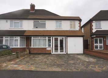 Thumbnail 5 bed semi-detached house for sale in Cumberland Drive, Chessington