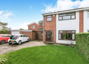 Thumbnail 3 bed semi-detached house for sale in Ffordd Carreg Y Llech, Treuddyn, Mold, Flintshire