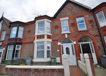 Thumbnail 4 bedroom terraced house to rent in Littledale Road, Wallasey