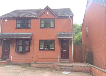 Thumbnail 2 bed semi-detached house for sale in Trajan Hill, Coleshill, Birmingham