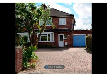 Thumbnail 4 bed semi-detached house to rent in Eye Road, Peterborough