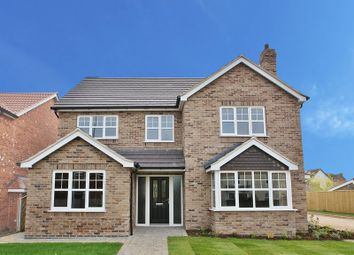 Thumbnail 5 bed detached house for sale in Plot 8, The Buckingham, Wheat Lane Off Hopfield Road, Hibaldstow, Brigg