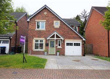 Thumbnail 4 bed detached house for sale in Hamilton Close, Newton Aycliffe