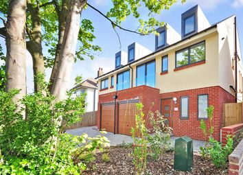 Thumbnail 4 bed semi-detached house for sale in The Ridgway, Woodingdean, Brighton, East Sussex