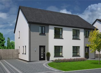 Thumbnail 3 bed semi-detached house for sale in Plot 87, The Meadows, Douglas Road, Castletown