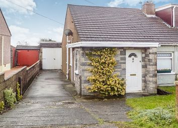 Thumbnail 3 bed semi-detached bungalow for sale in Merlin Crescent, Cefn Glas, Bridgend