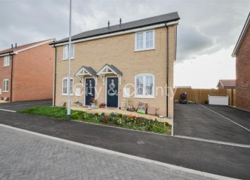 Thumbnail 2 bedroom semi-detached house for sale in Sandpiper Close, Crowland, Peterborough