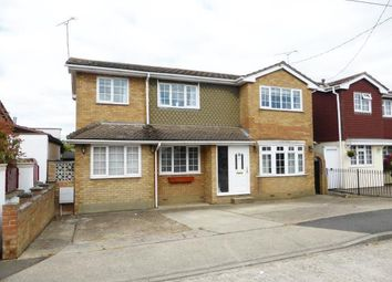 Thumbnail 3 bed detached house for sale in Canvey Island, Essex, .