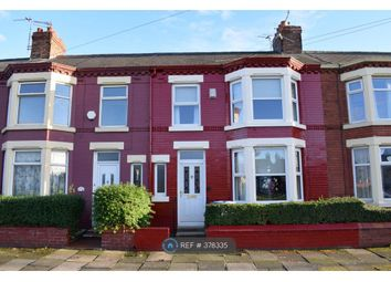 Thumbnail 3 bed terraced house to rent in Firdale Road, Liverpool